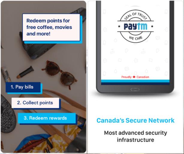 Paytm Canada App