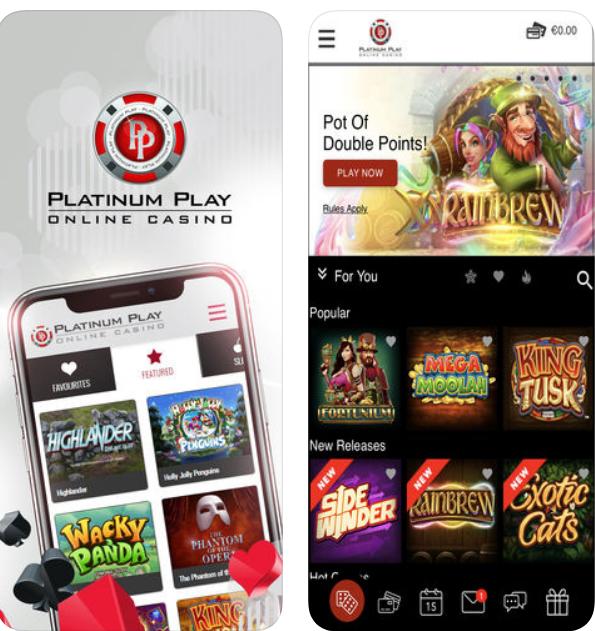 Platinum play cell phone