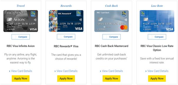 RBC Credit Cards