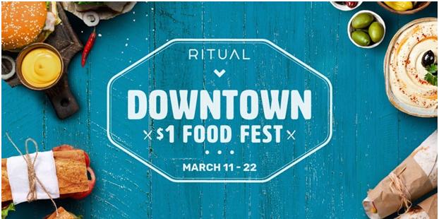 Dollar Fest promoton with Ritual Canada