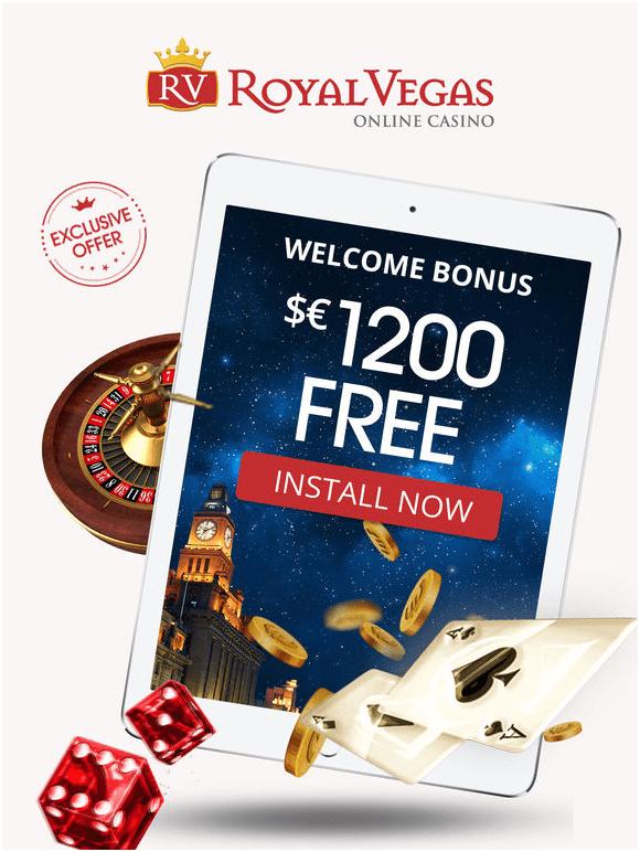 Casino Games with $1200 bonus