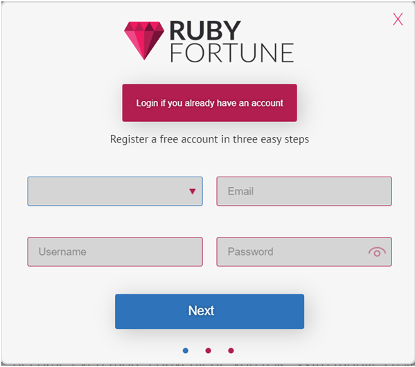 Ruby Fortune Casino Canada