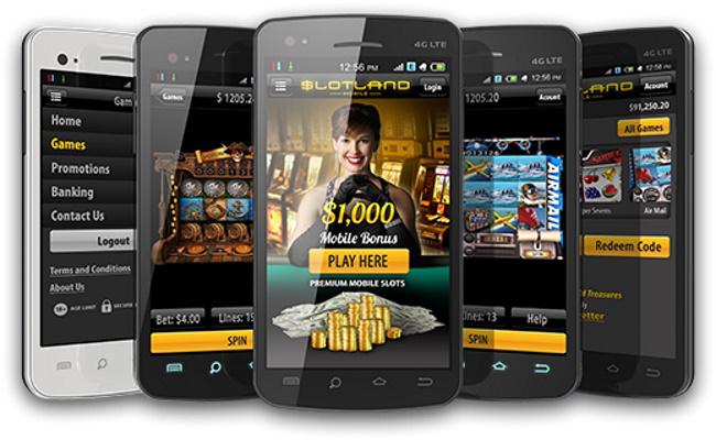 Slotland Mobile Casino Games