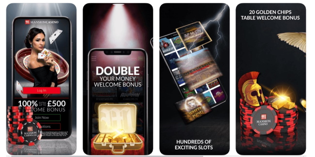 Top 4 Mobile Casino to play slots