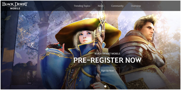 Black Desert Mobile Game Now Available to Play with Mobile in Canada