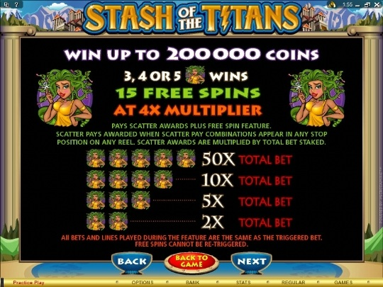 Stash of Titans Slots