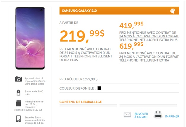 Sogetel Samsung plans