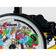 Wheelchair Clearance Folding Chair Size Invacare Action 3 Junior - Better Mobility