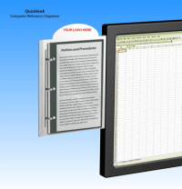 Quicklook Computer Reference Organizer, Copy Holder ...