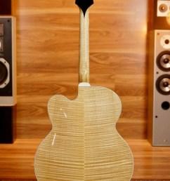 gibson super 400 custom archtop guitar w case  [ 809 x 1214 Pixel ]