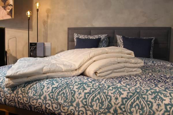 Nuvaro Merino de Luxe Wollen 4-Seizoenen Dekbed-260x220 100% zuiver Scheerwol