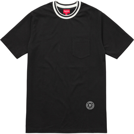 Rib Pocket Tee (Black)