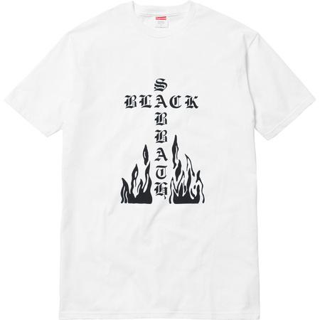 Supreme®/Black Sabbath© Cross Tee (White)