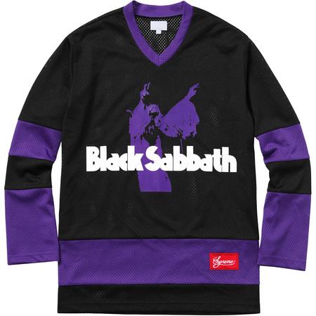 Supreme®/Black Sabbath© Hockey Jersey (Black)