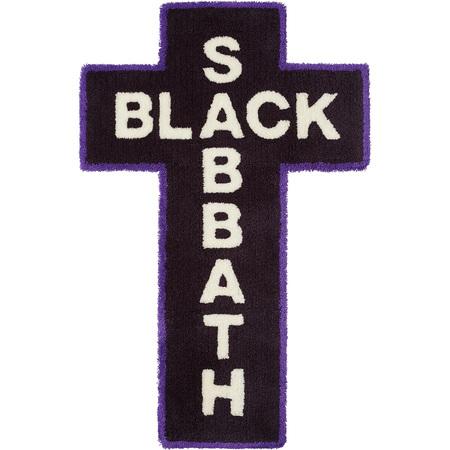 Supreme®/Black Sabbath© Rug (Black)