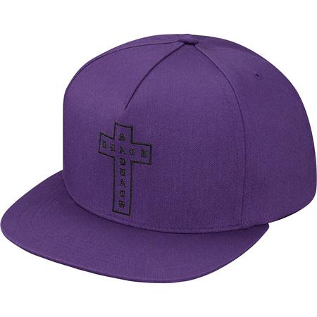 Supreme®/Black Sabbath© Cross 5-Panel (Purple)