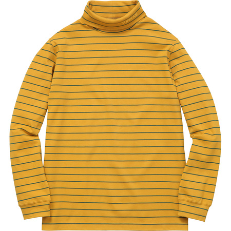 Striped L/S Turtleneck (Gold)