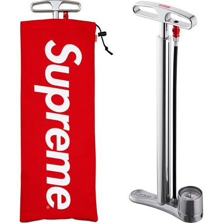 Supreme®/Lezyne® CNC Bike Pump (Silver)