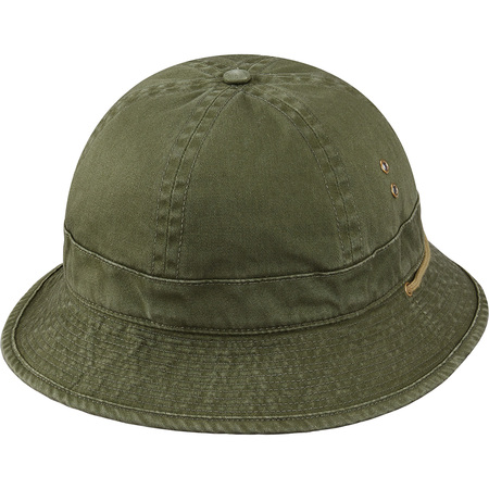 Tiger Camo Bell Hat (Olive)