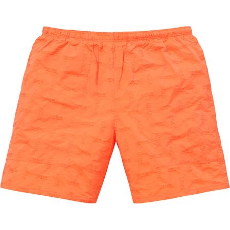 Jacquard Water Short (Orange)