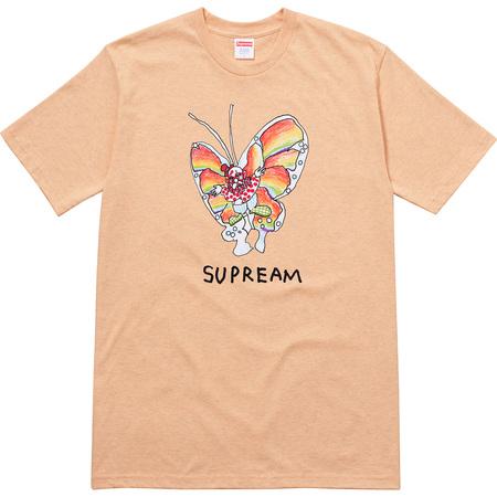 Gonz Butterfly Tee (Heather Light Orange)