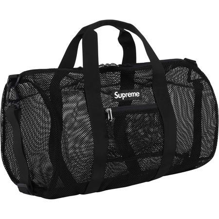 Mesh Duffle Bag (Black)