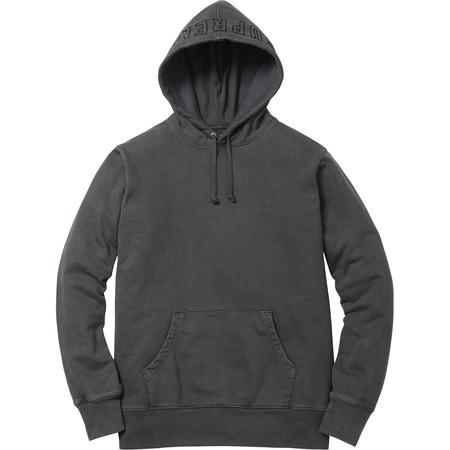 Overdyed Hooded Sweatshirt (Black)