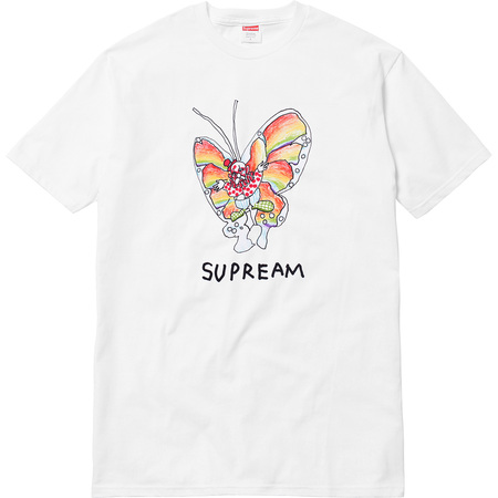 Gonz Butterfly Tee (White)