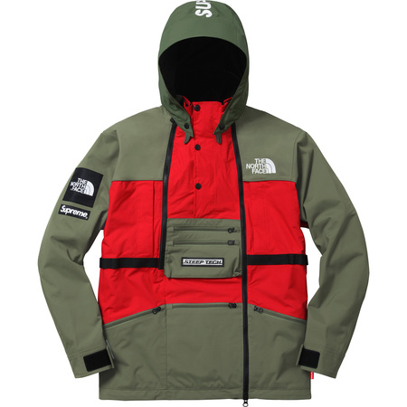 Supreme®/The North Face® Steep Tech Hooded Jacket (Olive)