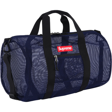Mesh Duffle Bag (Navy)