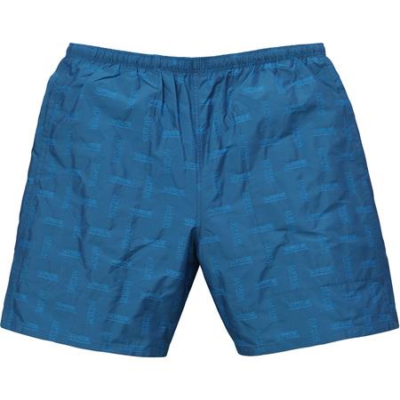 Jacquard Water Short (Dark Blue)