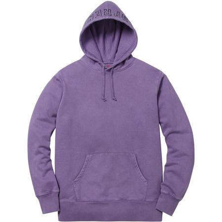 Overdyed Hooded Sweatshirt (Dusty Purple)