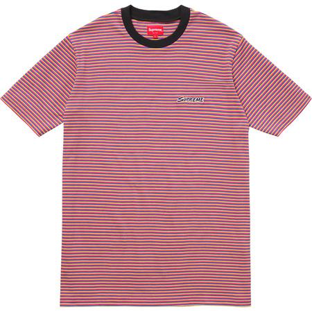 Multi Stripe Tee (Pink)