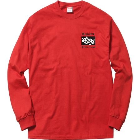 Productions L/S Tee (Red)