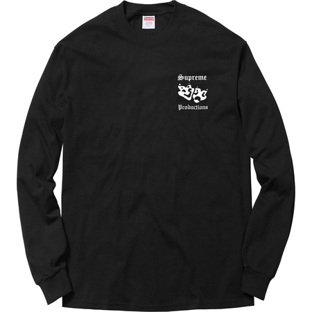 Productions L/S Tee (Black)