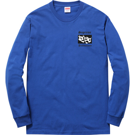 Productions L/S Tee (Royal)