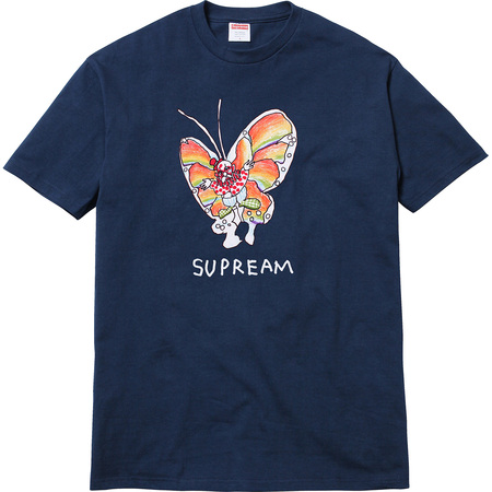Gonz Butterfly Tee (Navy)