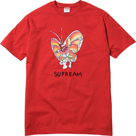 Gonz Butterfly Tee (Red)