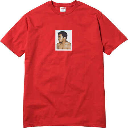 Ali/Warhol Tee (Red)