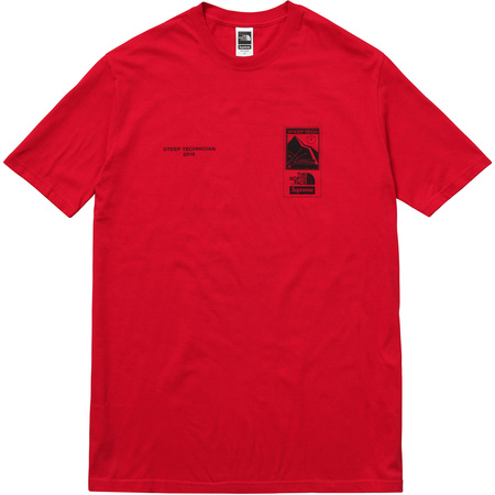 Supreme/The North Face Steep Tech Tee (Red)