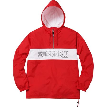 Nylon Ripstop Pullover (Red)