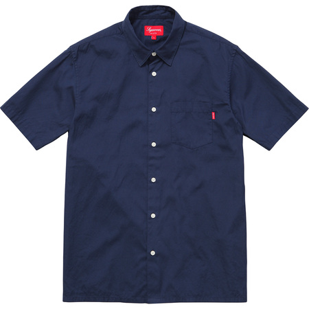 Lightweight S/S Oxford Shirt (Navy)