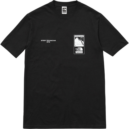 Supreme/The North Face Steep Tech Tee (Black)