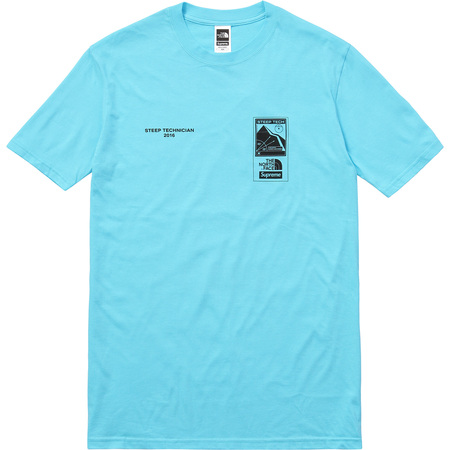 Supreme/The North Face Steep Tech Tee (Light Blue)
