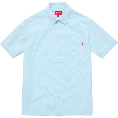 Lightweight S/S Oxford Shirt (Light Blue)