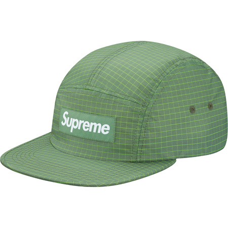 2-Tone Ripstop Camp Cap (Light Green)