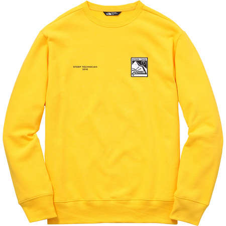 Supreme/The North Face Steep Tech Crewneck (Yellow)