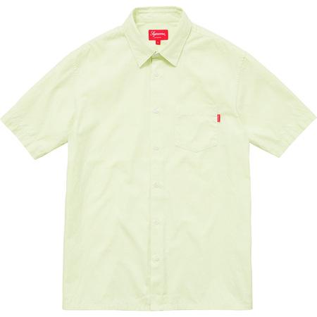 Lightweight S/S Oxford Shirt (Light Green)