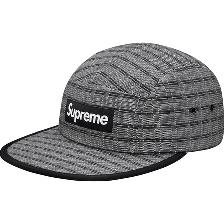 Nepal Woven Fitted Camp Cap (Black)
