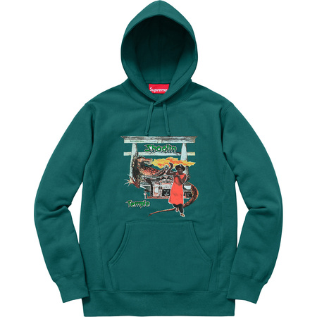 Supreme®/Barrington Levy & Jah Life Shaolin Temple Hooded Sweatshirt (Teal)